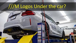 homepage tile video photo for How many ///M logos are UNDERNEATH the 2021 M2 Competition?