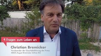 O-Ton #8 Christian Bremicker - Vorsitzender der Geschäftsführung der ABUS Gruppe