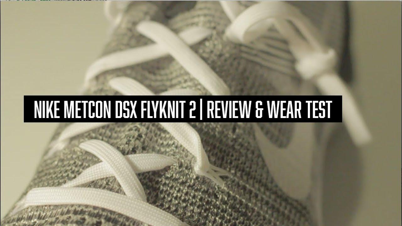NIKE METCON DSX FLYKNIT 2 REVIEW & WEAR TEST