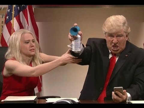 SNL Lampoons Trump's Highlights  - Inability to Stop Tweeting 12/3/16