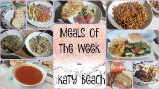 Meal's of the Week - Katy Beach