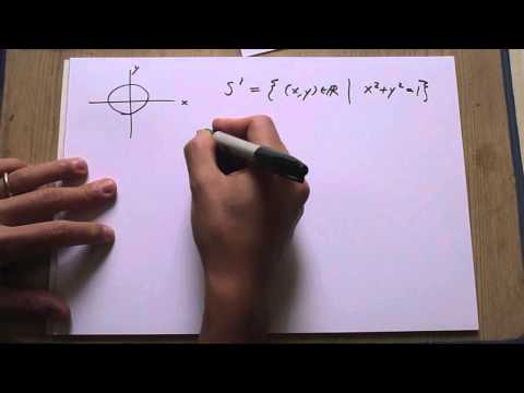 "Lecture 1.1: Topological Spaces, ""practical"" examples"