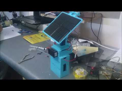 Developing a Solar tracker using Electronics
