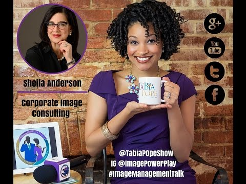 """Corporate Image Consulting with Sheila Anderson"" - The Tabia Pope Show S2 Ep4"