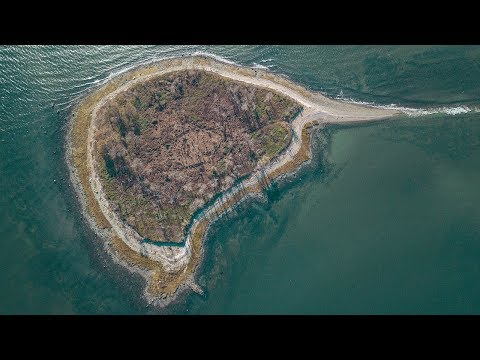 Charles Island, Milford CT Drone Footage