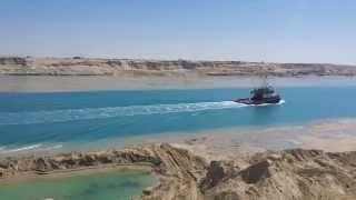 قناة السويس الجديدة الكراكات والوحدات البحرية المعاونة  مارس 2015