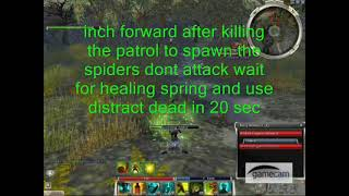 Guild Wars RT/R FoW Forest Farming Area 1
