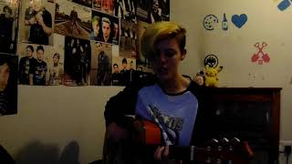 blink-182 - I Really Wish I Hated You Acoustic Cover