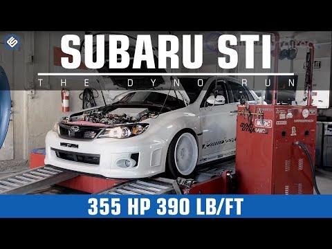 2011 Subaru WRX STI (355 HP/390 ft/lb) - YouTube