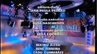 Encerramento do SBT Brasil com Ana Paula Padrão (2006)