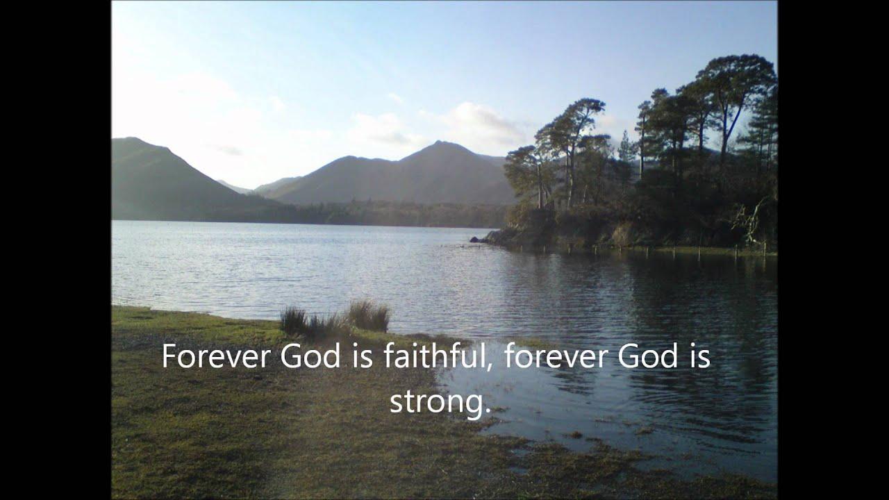 Lyrics of forever god is faithful by hillsong