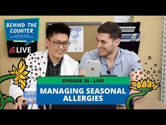 Managing Seasonal Allergies