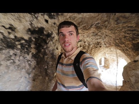 Catacombs Under a 7th Century Monastery in Iraq!!