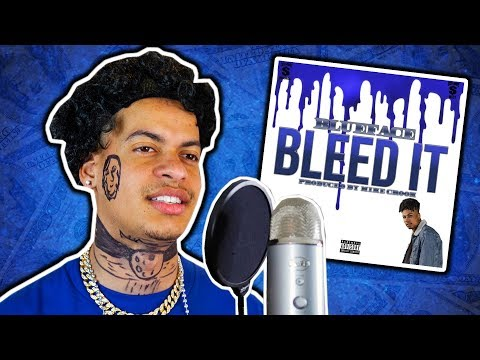 """How Blueface Recorded """"Bleed It"""""""