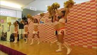 清水エスパルス公式チアリーダー「オレンジウェーブ」のダンスショー (2...