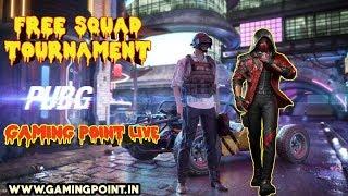 LIVE PUBG MOBILE #308 BOOM BAM FREE TOURNAMENT  Gaming Point Live Stream