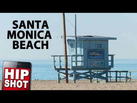 LIVE from Santa Monica Beach!