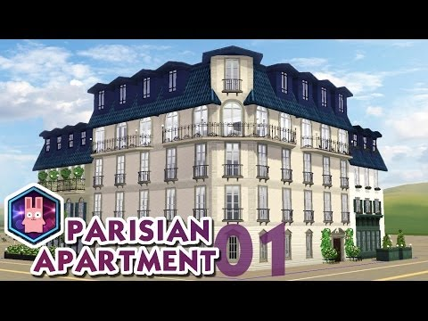 The Sims 3 -Speed Build- Parisian Apartment No. 01