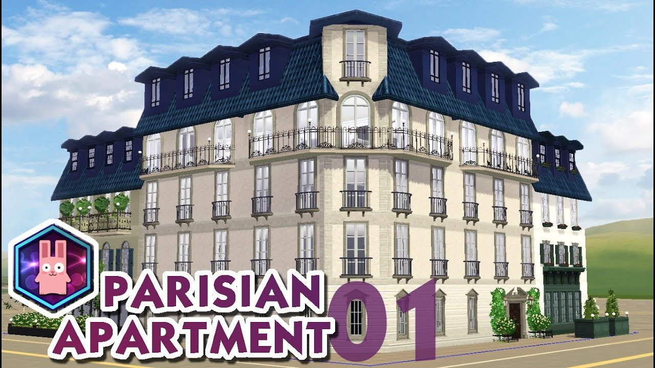 The Sims 3 Speed Build Parisian Apartment No 01 Youtube