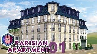 The Sims 3 -speed Build- Parisian Apartment No. 01