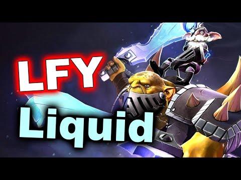LFY vs LIQUID - TI7 Semi-Final GAMES 1, 2 - DOTA 2