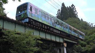 【叡山電鉄】鞍馬線 市原~二ノ瀬【叡電】