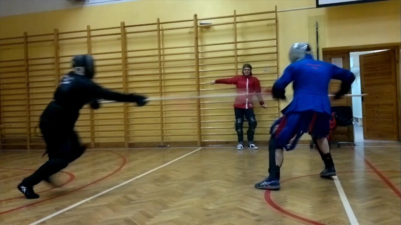 neyman fencing zornhau armory spearhead youtube