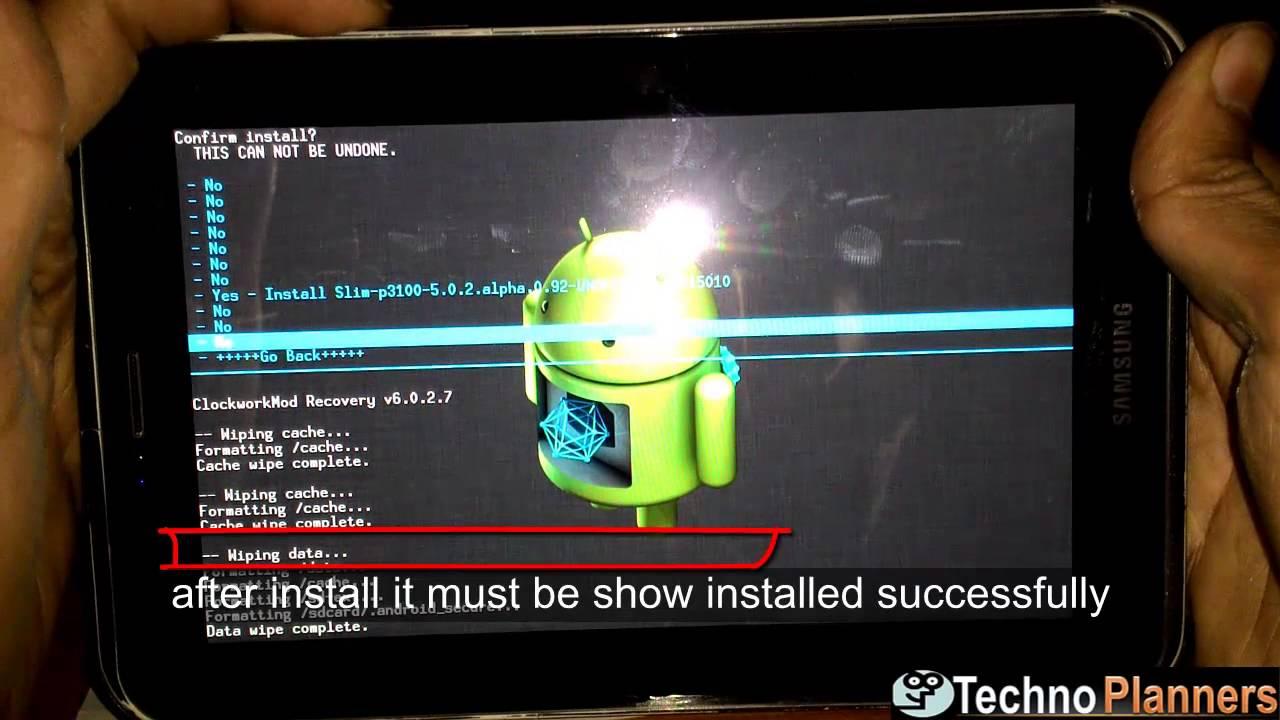 android 5.0 samsung galaxy tab 2 7.0