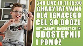 ⚓ 24H CHARYTATYWNY | POMAGAMY ⚓ !cel !ignacy !donate - Na żywo