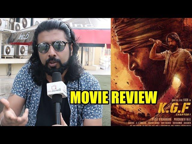 K G F: Chapter 1 Movie Review By Amarpreet   Yash, Prashanth