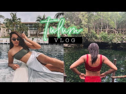 TULUM Travel Vlog | What I Wore & Did in MEXICO | Antonnette