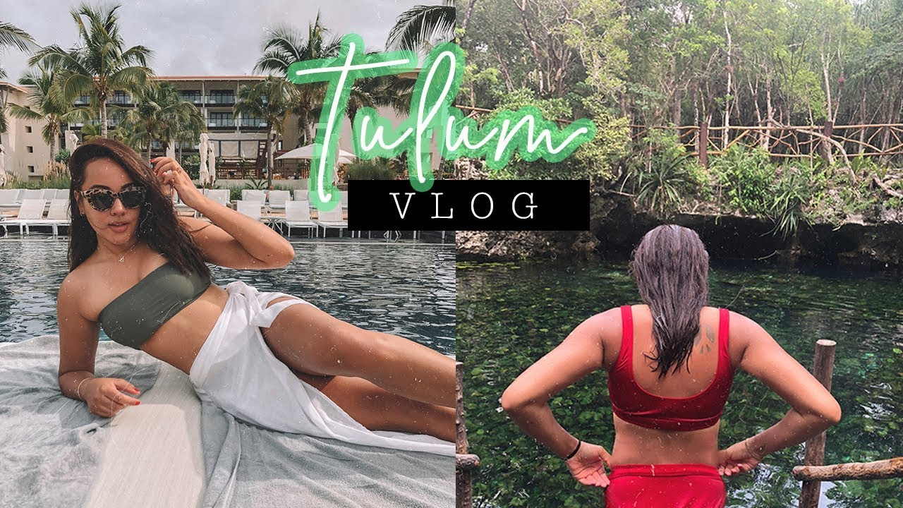 TULUM Travel Vlog   What I Wore & Did in MEXICO   Antonnette
