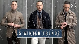 5 Winter Trends To Wear Now | Men's Fashion Trends Winter 2019