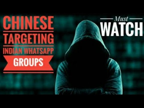 Chinese Hackers targeting indian whatsapp groups