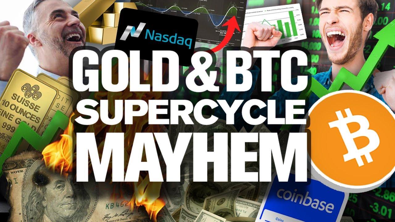 GOLD & BITCOIN SURGE!! SuperCycles Have Begun!!!