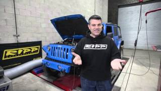 RIPP Superchargers Jeep Wrangler 3.6 Dyno Run
