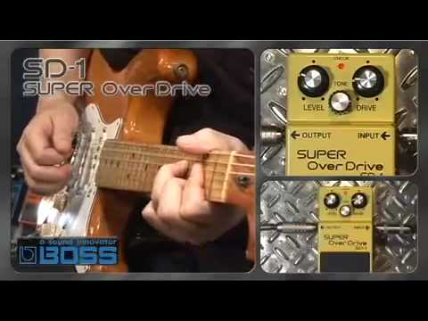 Boss SD1 Overdrive Pedal - Nevada Music UK