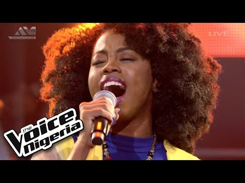 "A'rese sings ""Circle Of Life"" / Live Show / The Voice Nigeria 2016"