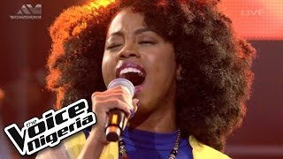 """A'rese sings """"Circle Of Life"""" / Live Show / The Voice Nigeria 2016"""