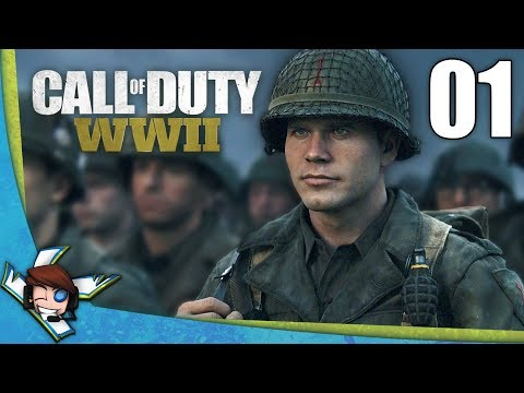CALL OF DUTY WWII 1 : Débarquement en Normandie