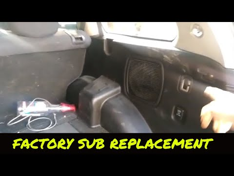 "Mitsubishi Endeavor Factory 8"" Oem Sub Replacement 