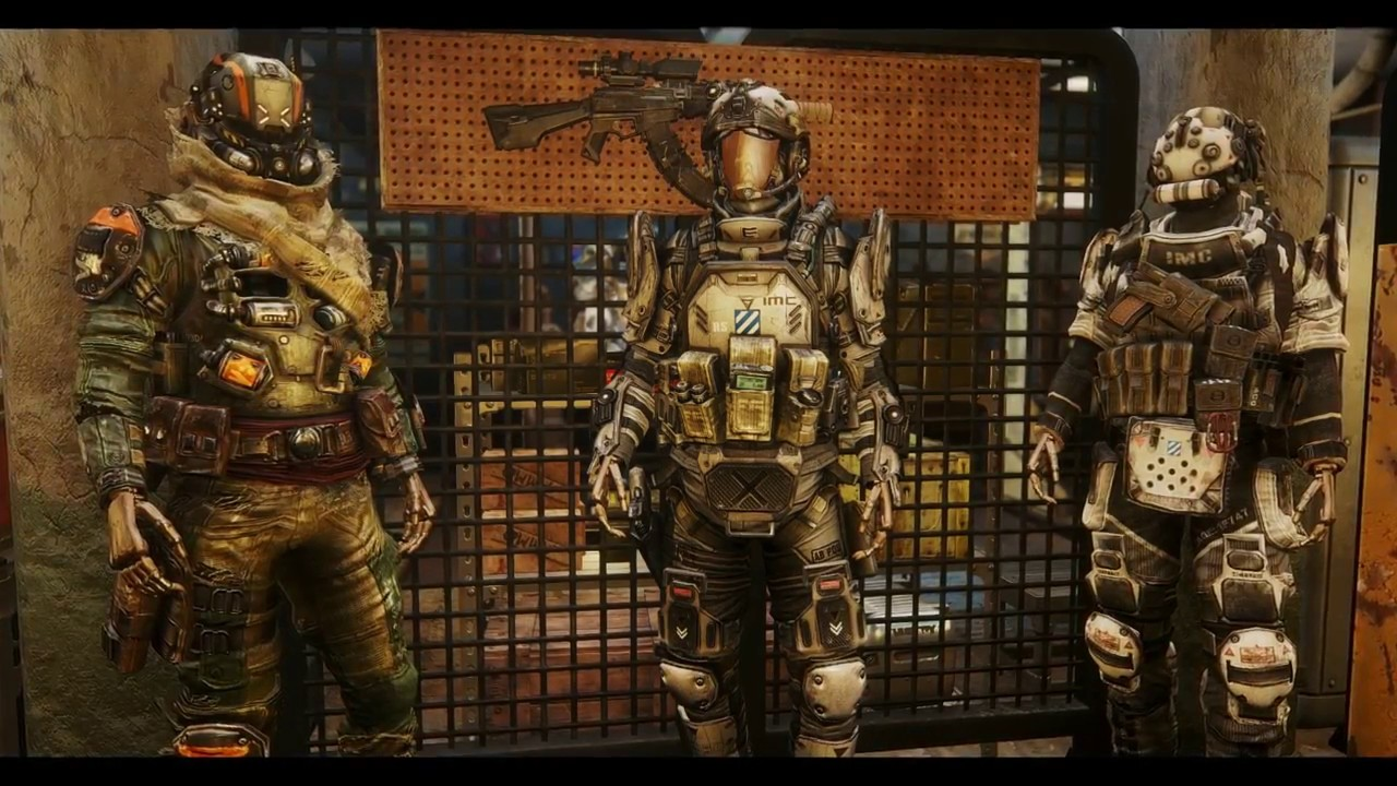 Fallout 4 Mod Showcase Titan Fall Armor Pack By Kjh1222b
