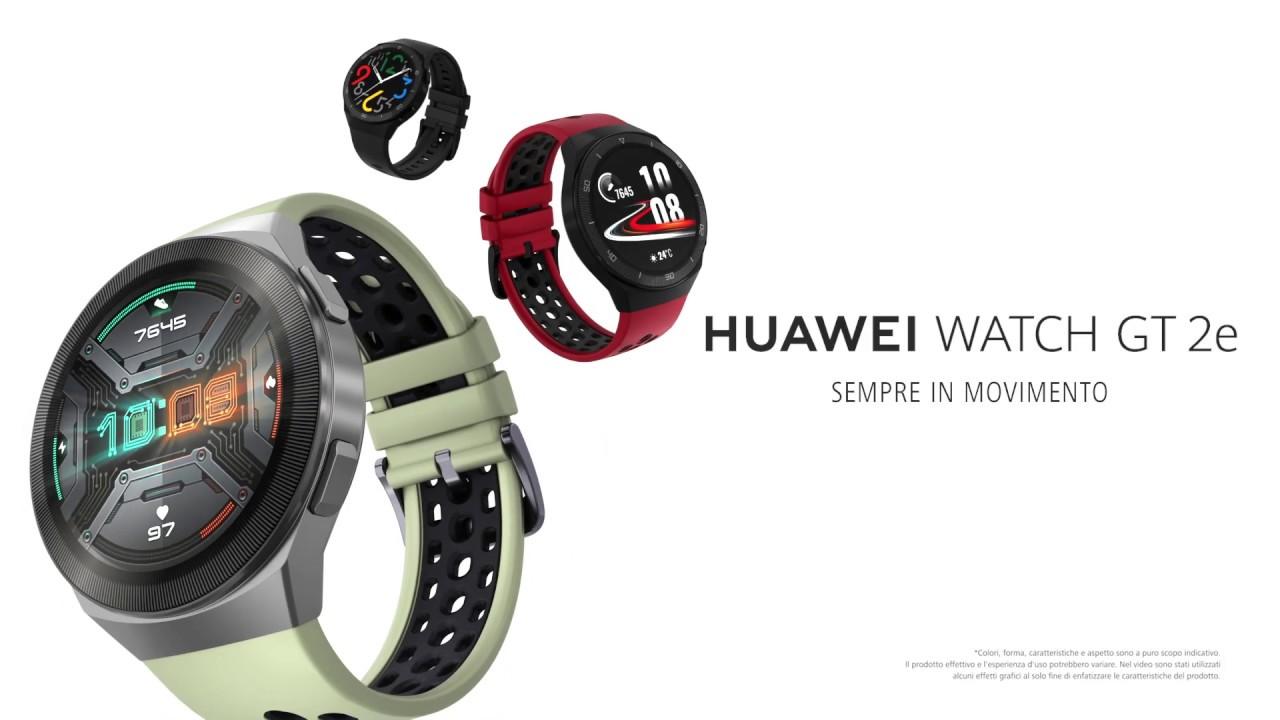 Nuovo Huawei Watch GT 2e