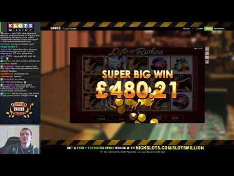 Casino Slots Live - 24/11/17 *Big Cashout!*