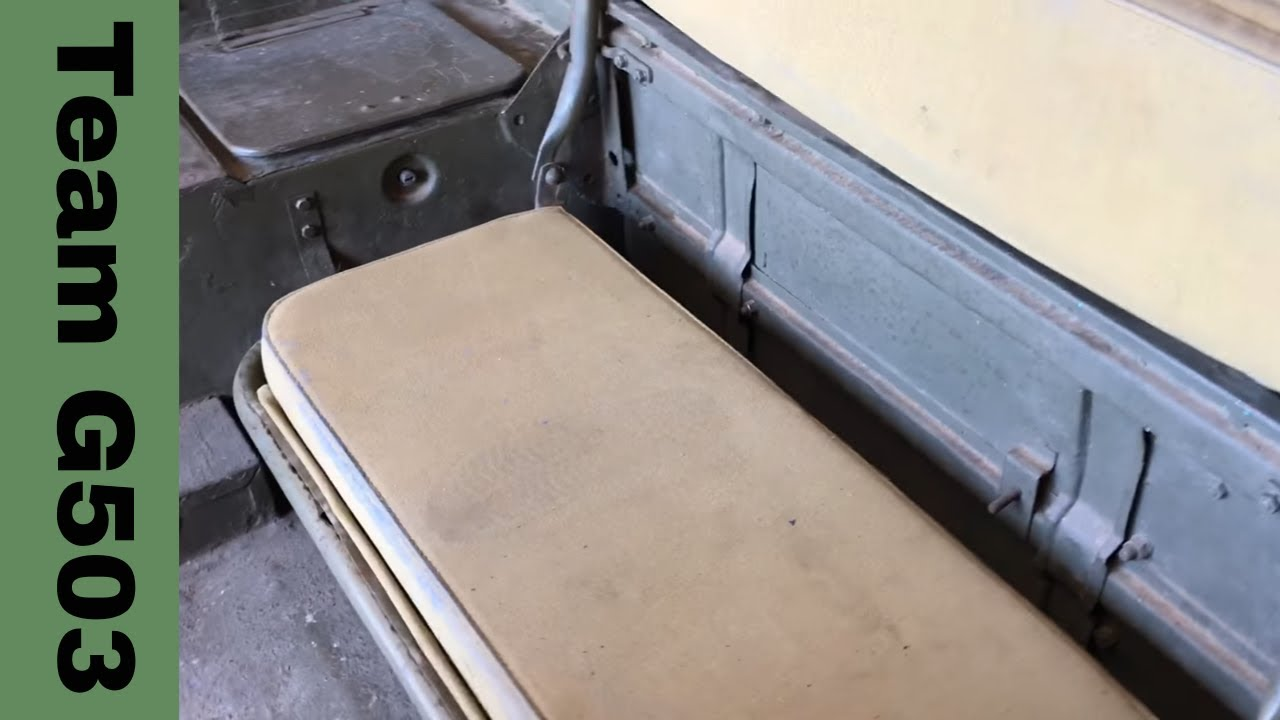 removing the seats from a 1943 willys mb Willys Jeep CJ2A Rear-Seat