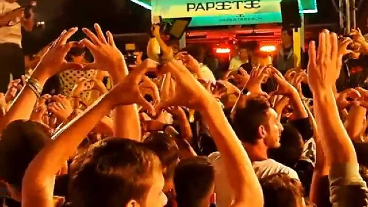 Papeete Beach Night Ferragosto 2015 Mediterranean Sound - YouTube