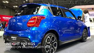 New Suzuki Swift Sport 140 PS | First Look