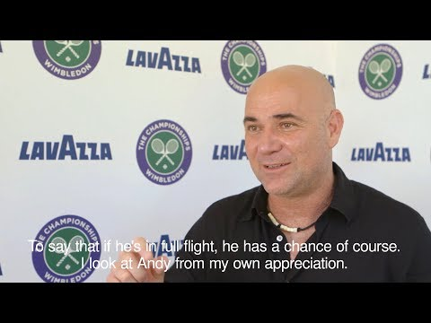 Andre Agassi On Wimbledon Tournament Favourites
