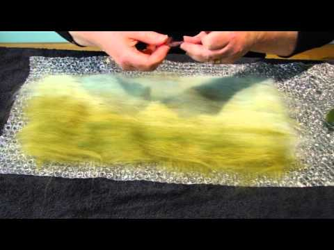 How to make an Artfelt Scottish Landscape Felted Picture with Highland Cattle