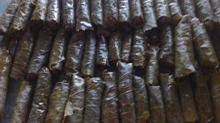 Рецепт Долма с курицей.Голубцы в виноградных листьях.Долма (голубцы в виноградных листьях)